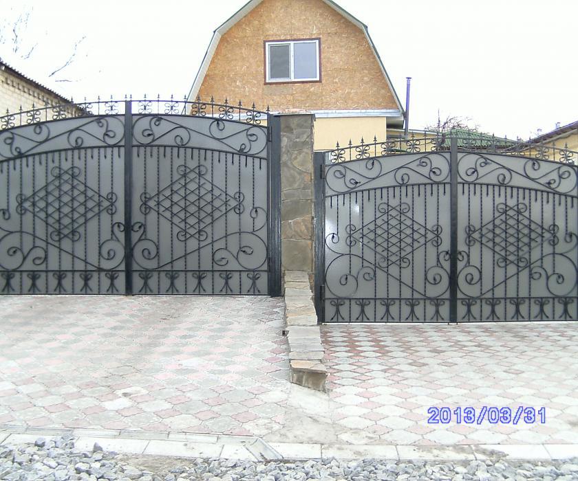 Металлические ворота Черкассы